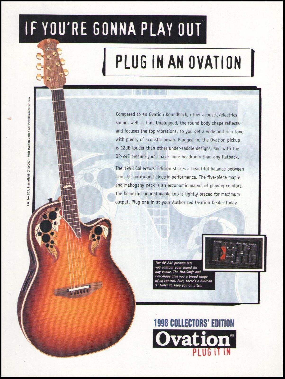 Ovation Collectors series 1982-2011