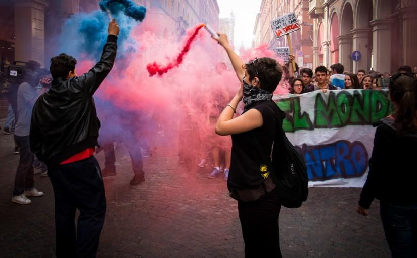 Manifestazione a Bologna