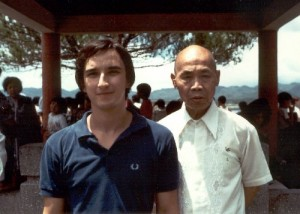 Albertro Biraghi e Chan Hon Chung sifu