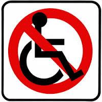vietato ai disabili