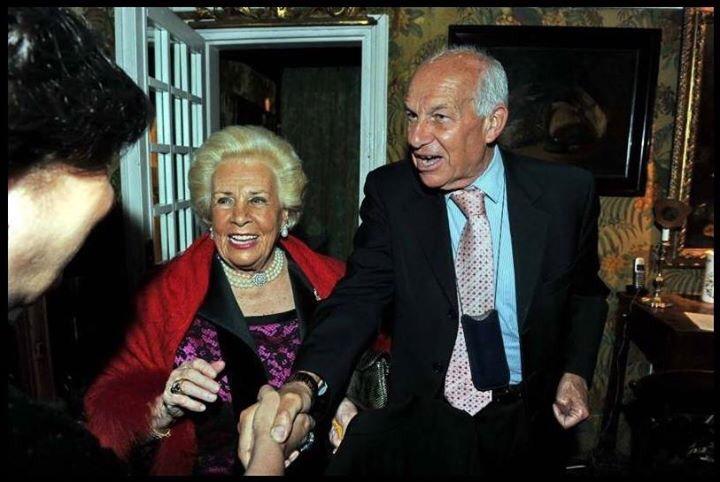 Assunta Almirante e Fausto Bertinotti