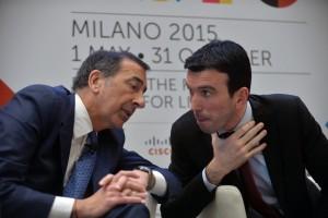 Giuseppe Sala e Maurizio Martina