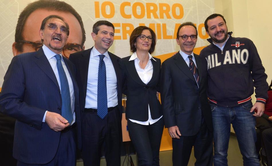La destra a Milano con Parisi