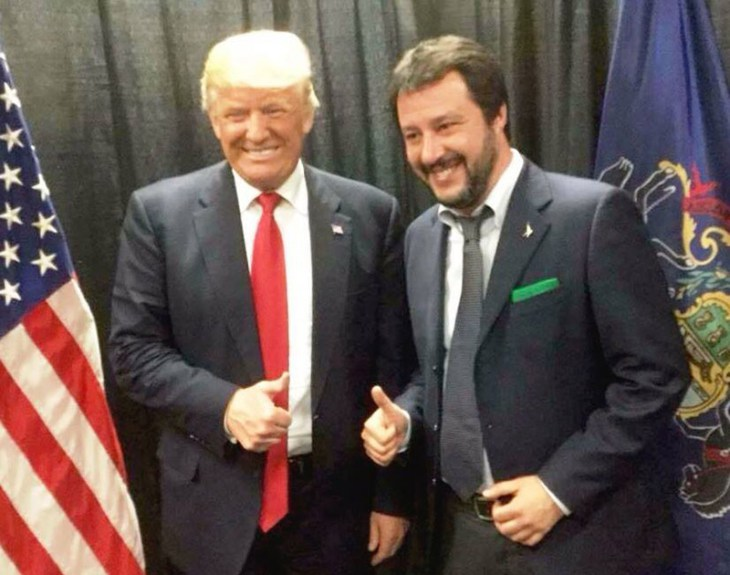 Salvini-Trump votare per un imbecille
