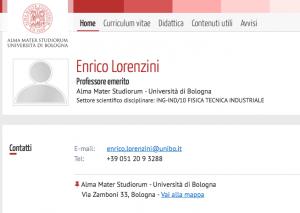 enrico lorenzini