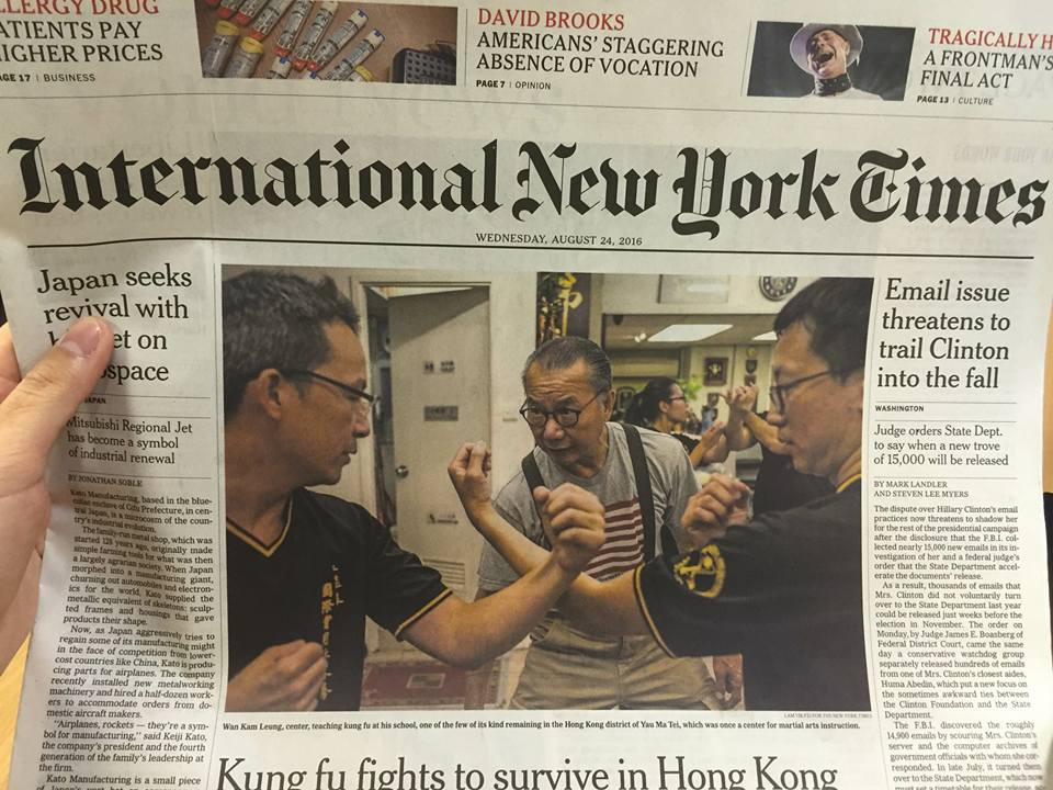 The New York Times - Exit The Dragon