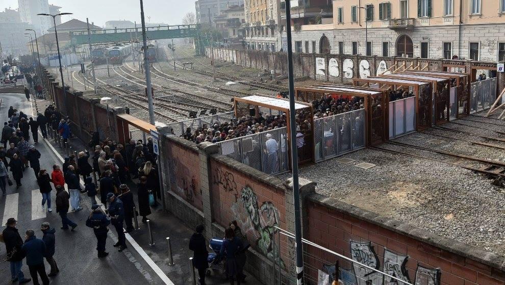 passerella Porta Genova