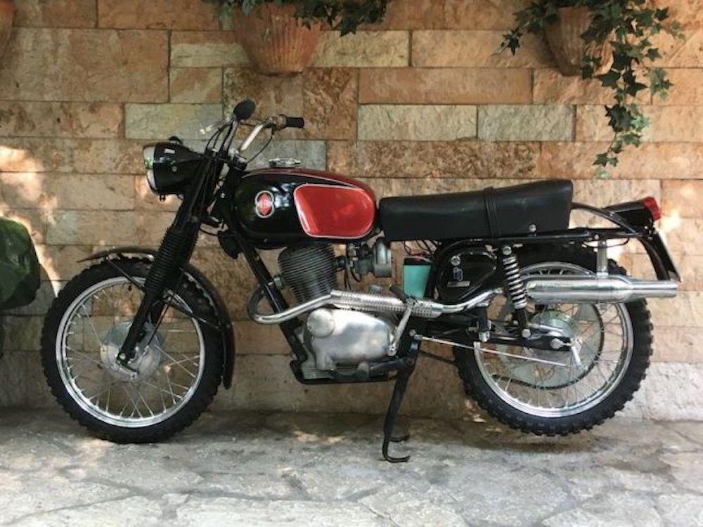 moto gilera 98 country