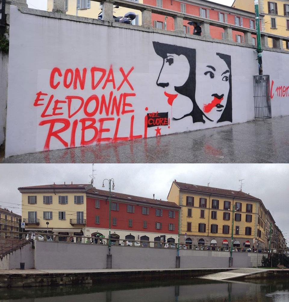 Darsena di Milano: troppo sovietica per tollerare la street art