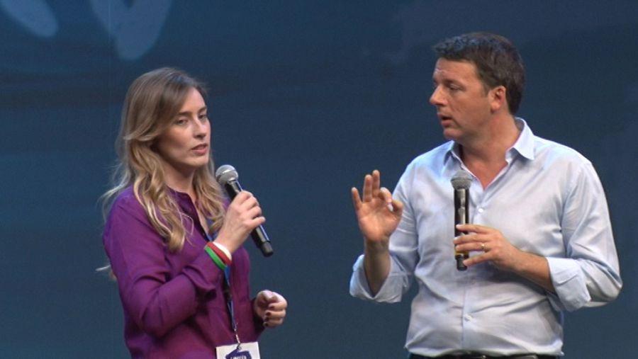 Matteo Renzi e Maria Elena Boschi: la cosa renziana