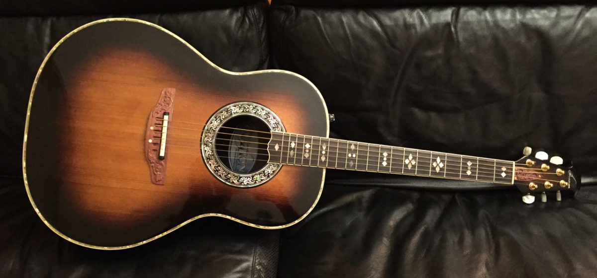 Ovation 1619-1 1981 Custom Legend