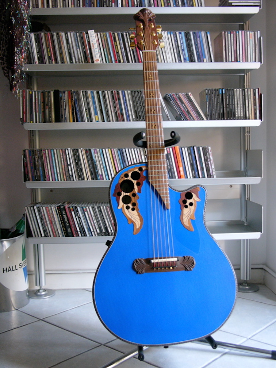 Ovation Adamas Blue Boy made for Jol Dantzig