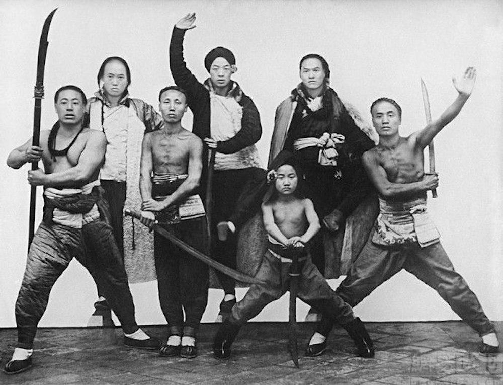 """""""Local Militia Shandong."""" 1906-1912 by Fr. Michel de Maynard."""