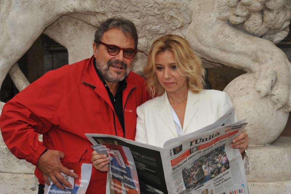 Concita De Gregorio e Oliviero Toscani
