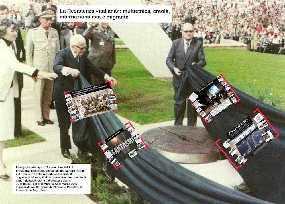 La Resistenza italiana creola e internazionalista