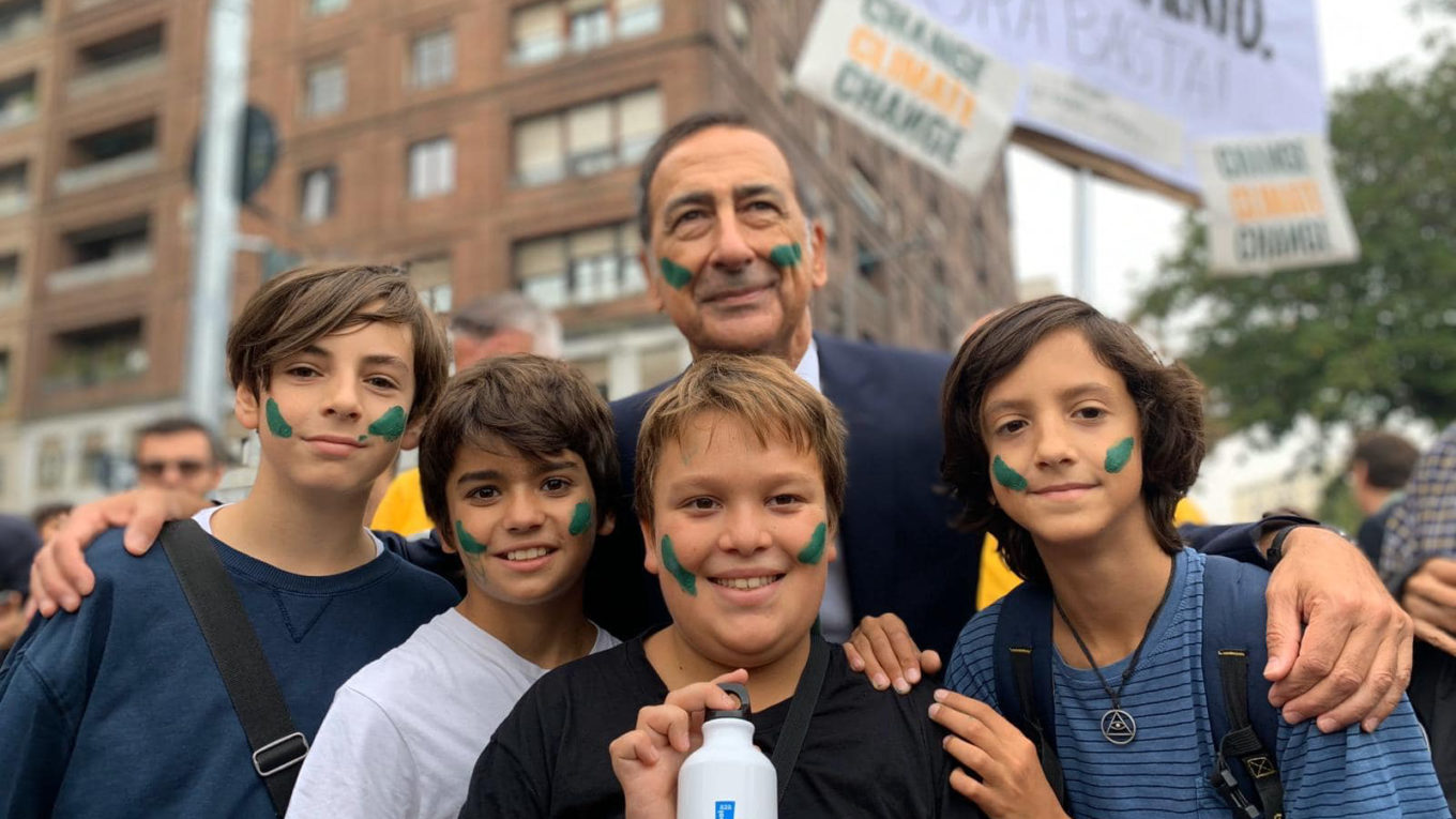 Beppe Sala a Fridays For Future - 27 settembre 2019