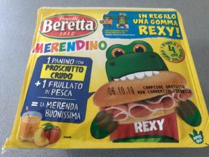 Il Merendino dei Fratelli Beretta con cui riesci a pagare € 92 al Kg del prosciutto crudo cattivo.