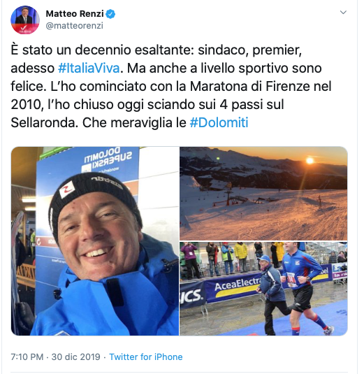 Matteo Renzi e la sindrome del capitano