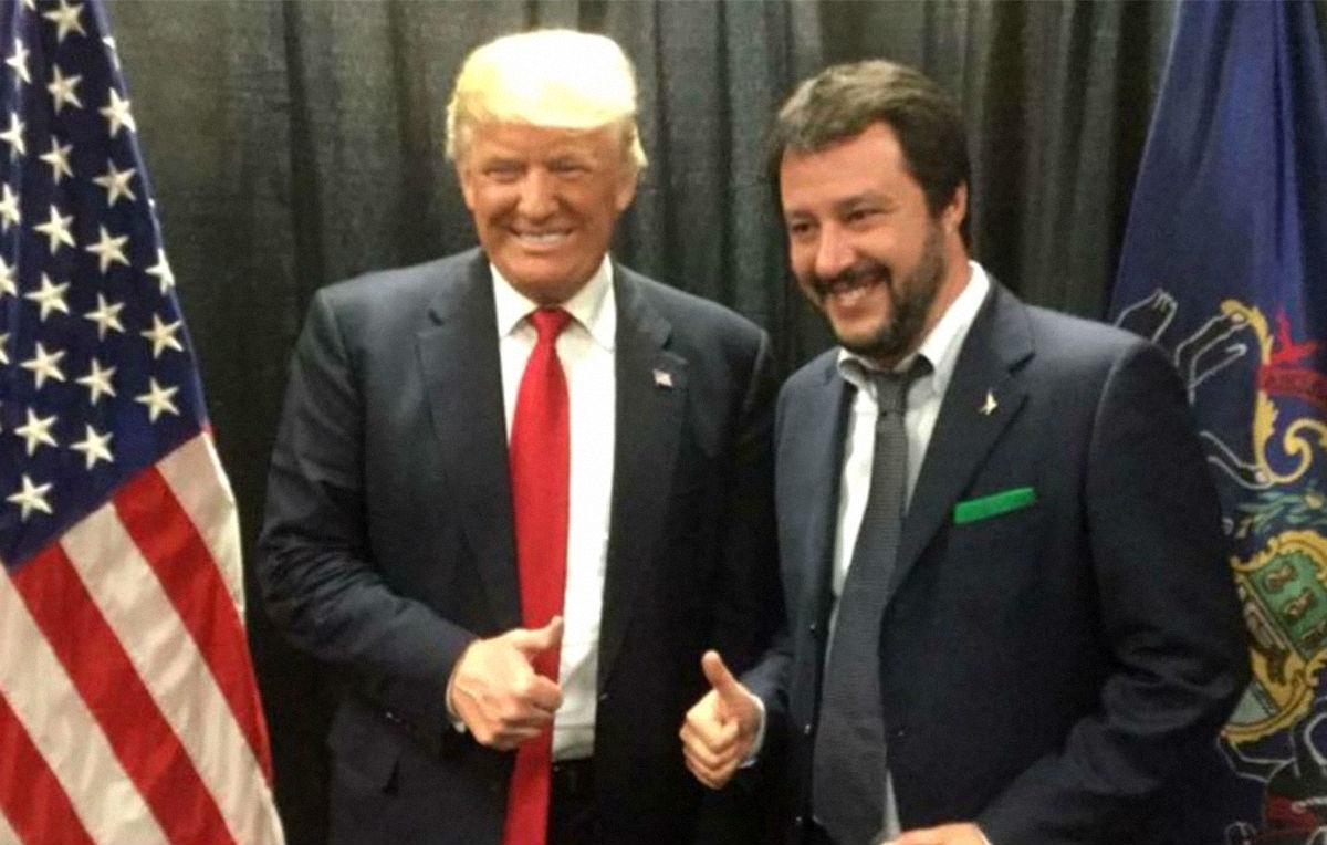 Qasem Soleimani, Salvini e Trump